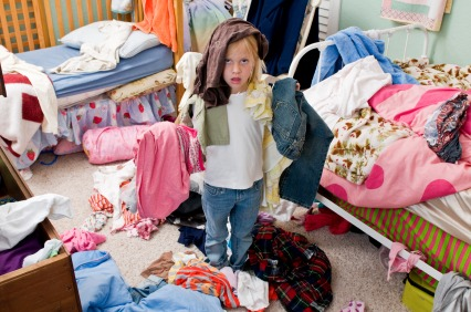 getting kids to clean their room | you clean